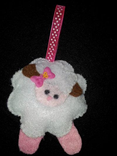 pecore in feltro