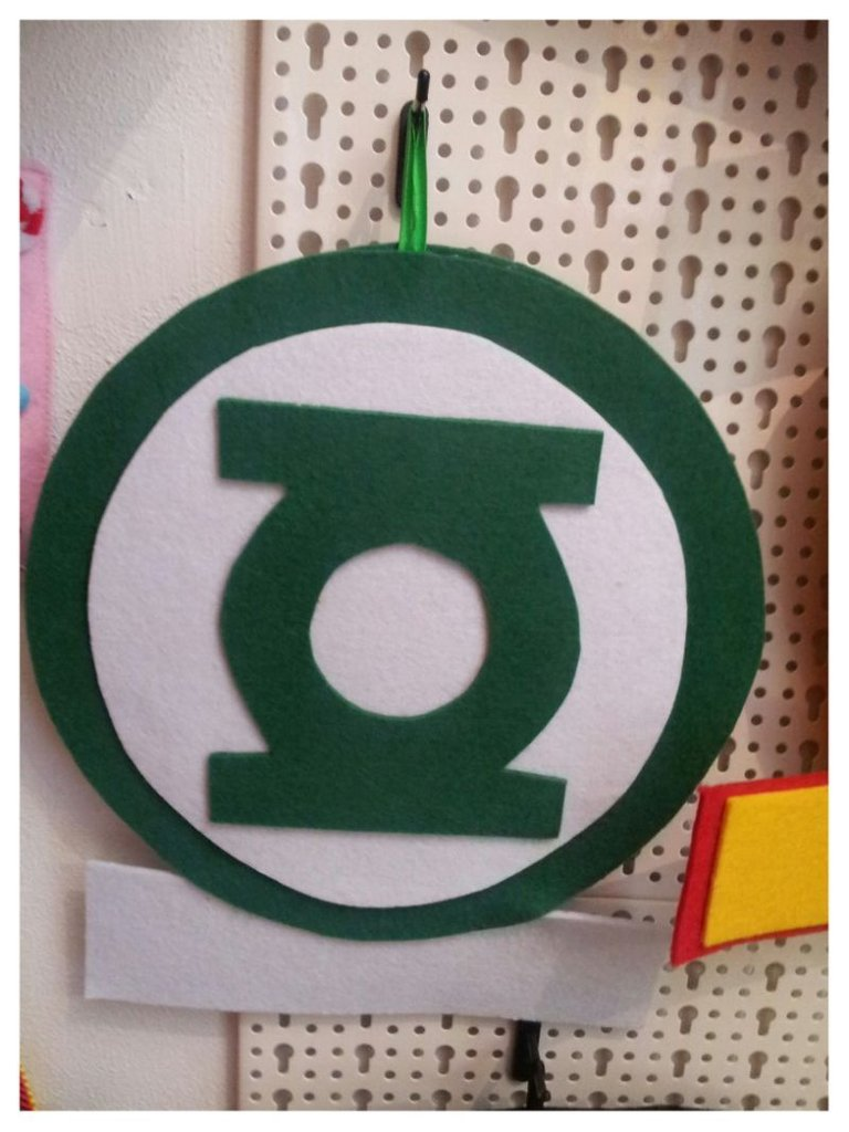 Fuoriporta Lanterna Verde