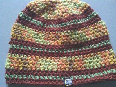 _cappello  uomo, donna  ragazzo in lana, fatto a mano all'uncinetto C070_