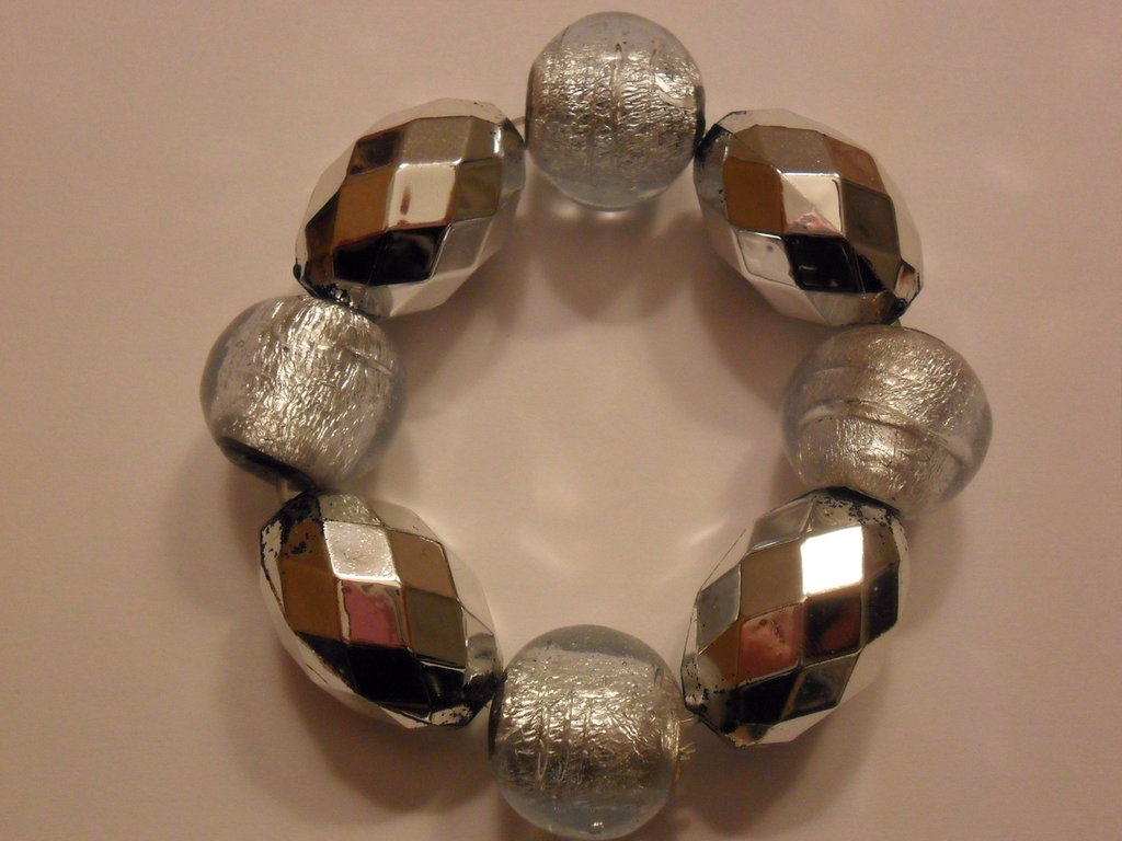 Bracciale color argento
