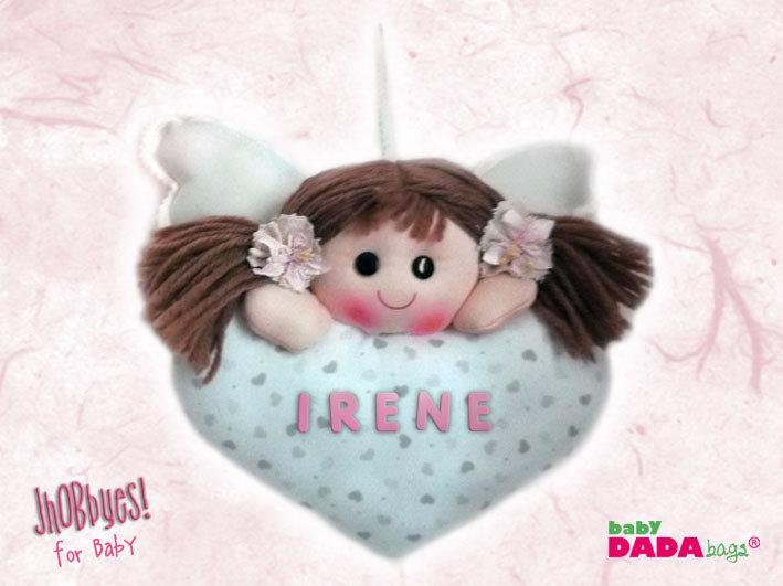 "Fiocco Nascita Bimba ""Doll"""