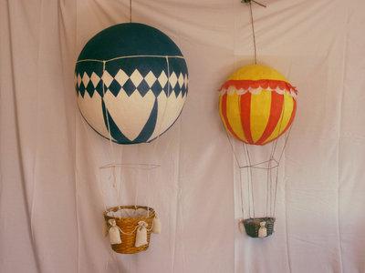lampadario topolino : Mongolfiera rossa/blu per la cameretta - Per la casa e per te - Pro ...