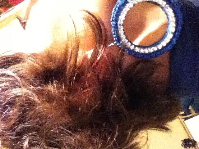 orecchini strass