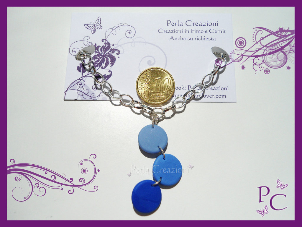 Collana Coriandoli - Blu