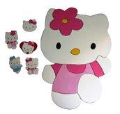Lavagna magnetica Hello Kitty - fatta a mano