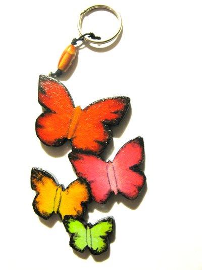 Portachiavi Farfalle