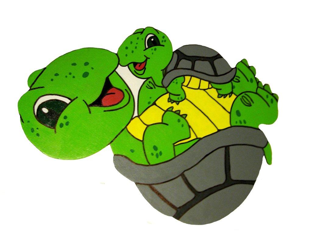 Lavagna magnetica tartarughe fatta a mano per la casa for Oggetti per tartarughe