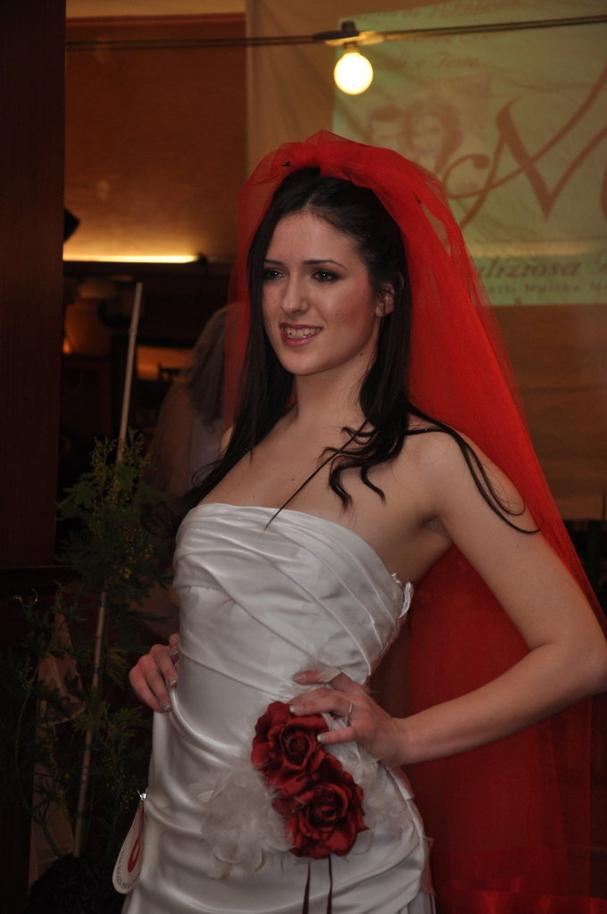 Velo Sposa rosso