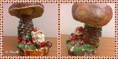 Fungo porcino con Babbo Natale