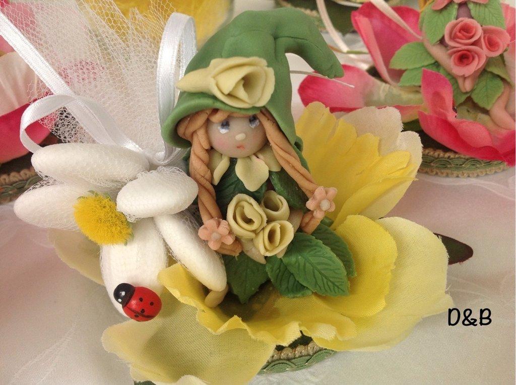 Tappo decorato con gnometta