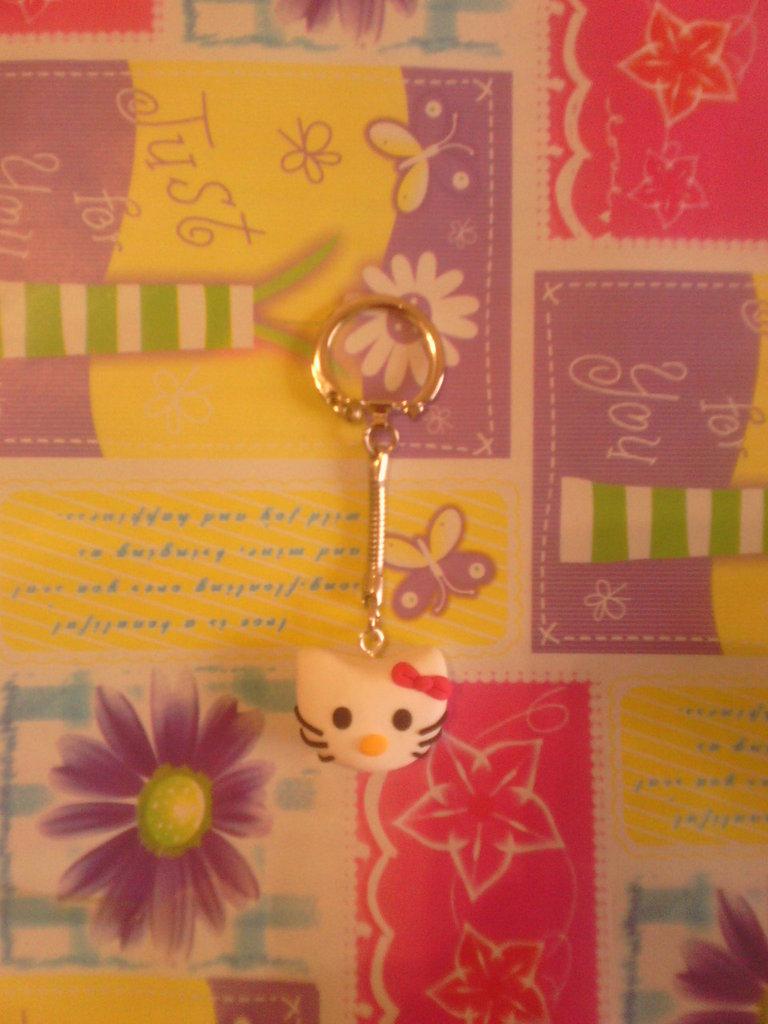 Portachiavi fimo hello kitty - charms ciondoli portachiavi bracciali collane orecchini
