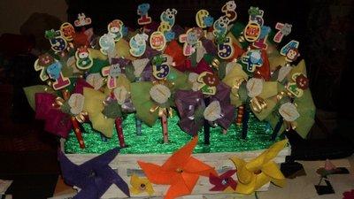 BOMBONIERA CON MATITA confetti in regalo