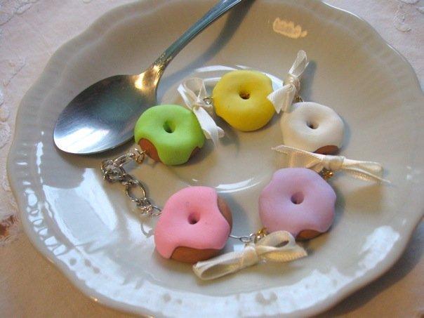 Bracciale Donuts colori pastello