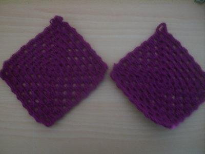 presine uncinetto ......... crochet potholders