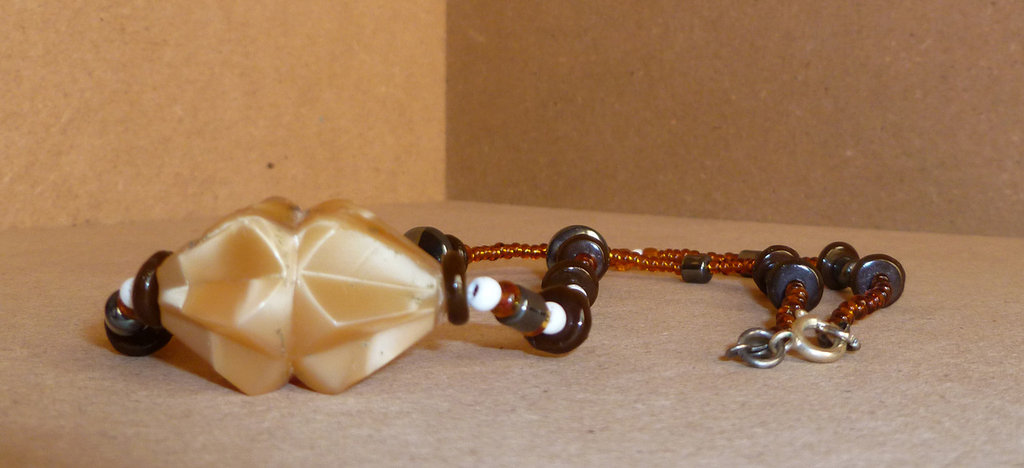 Collana con pendente in onice