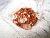 Copper twine Ring