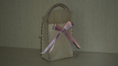 """sacchetti per confetti fai da te, segnaposto artigianale """"festone lilla"""""""