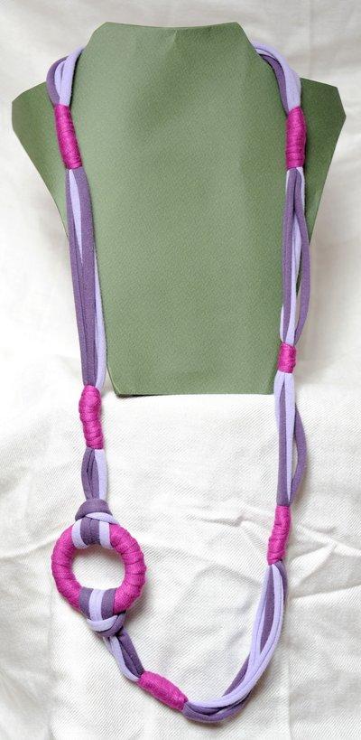 Collana lunga Viola