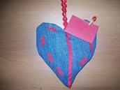 cuore porta messaggio