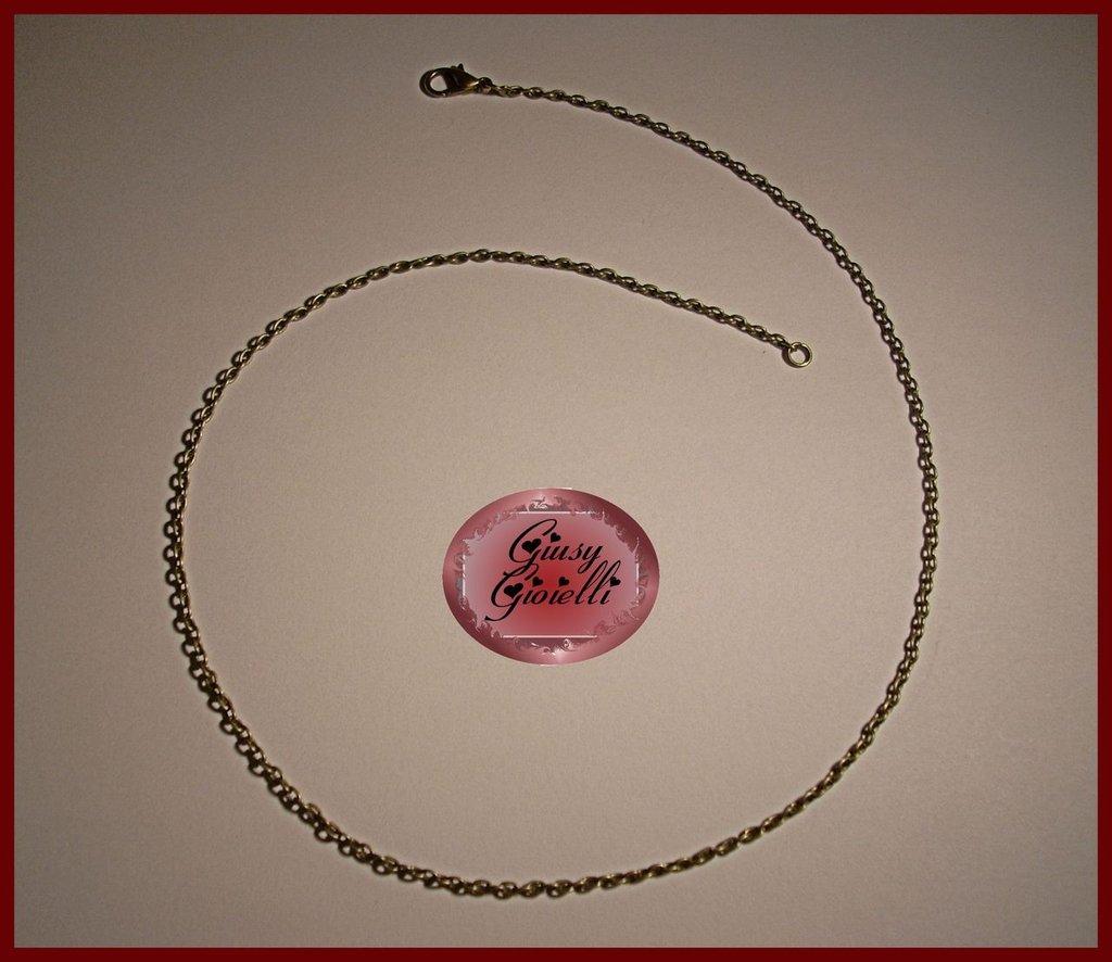 Base collana bronzo