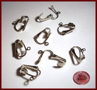 base orecchini a clip