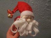 Portatovagliolo Babbo Natale