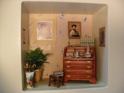 roombox con scrittoio