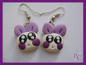 ✿ OFFERTA 5,00€!!! ✿ Orecchini Violet Bunny