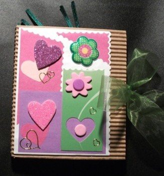 Idea Regalo 9! Mini Album Post-it PortaAppunti - San Valentino Notes in Scrap^^