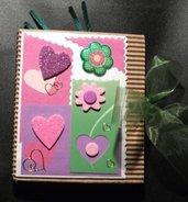 Idea Regalo 9! Mini Album Post-it PortaAppunti - San Valentino Notes in Scrap^^