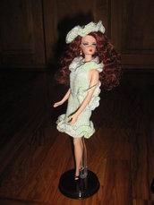 Abito anni sessanta per fashion doll