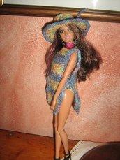 Costume da bagno per fashion doll