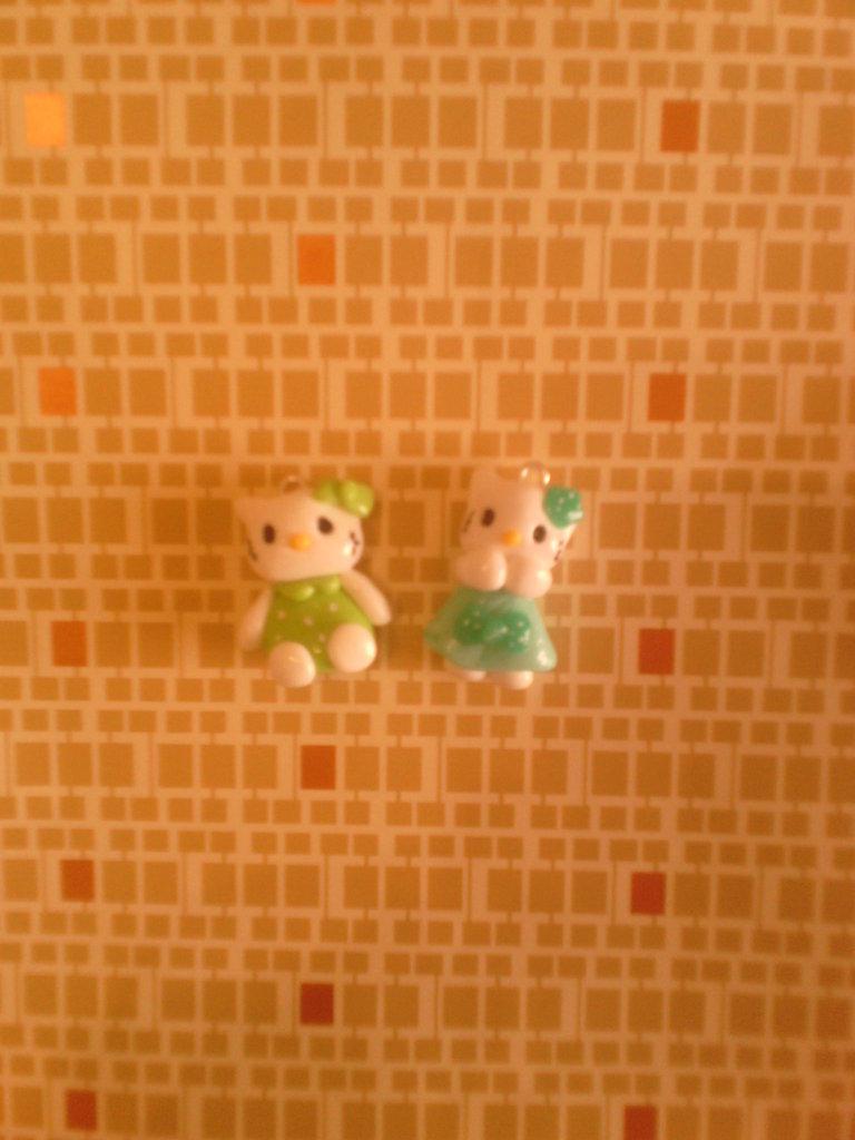Ciondolo Hello Kitty - fimo charms bracciali collane orecchini portachiavi
