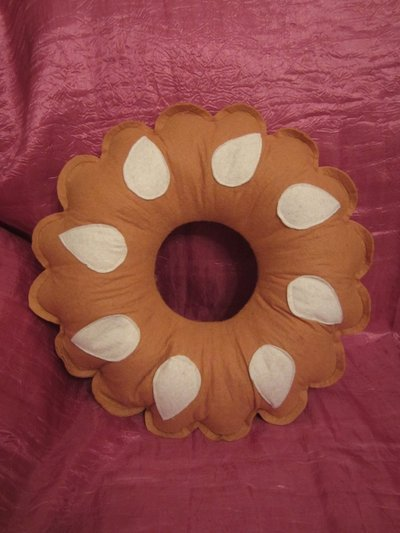cuscino biscottoso - bucaneve della doria