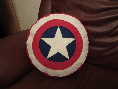 cuscino - scudo di capitn america