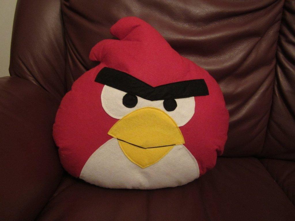 cuscino - angry birds