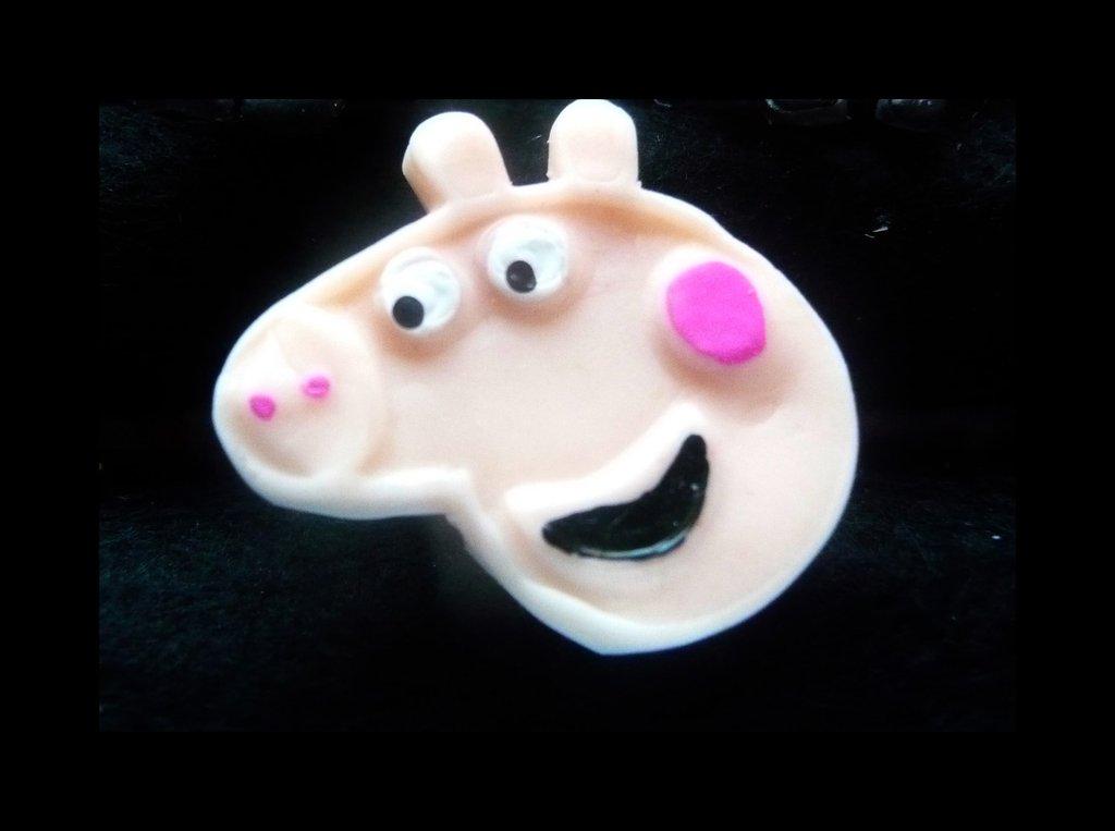 PINZETTA PEPPA PIG PER CAPELLI O ALTRO IN FIMO