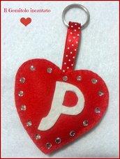Portachiavi Heart. San Valentino