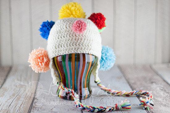 Cappellino Carnevale Pom Pom