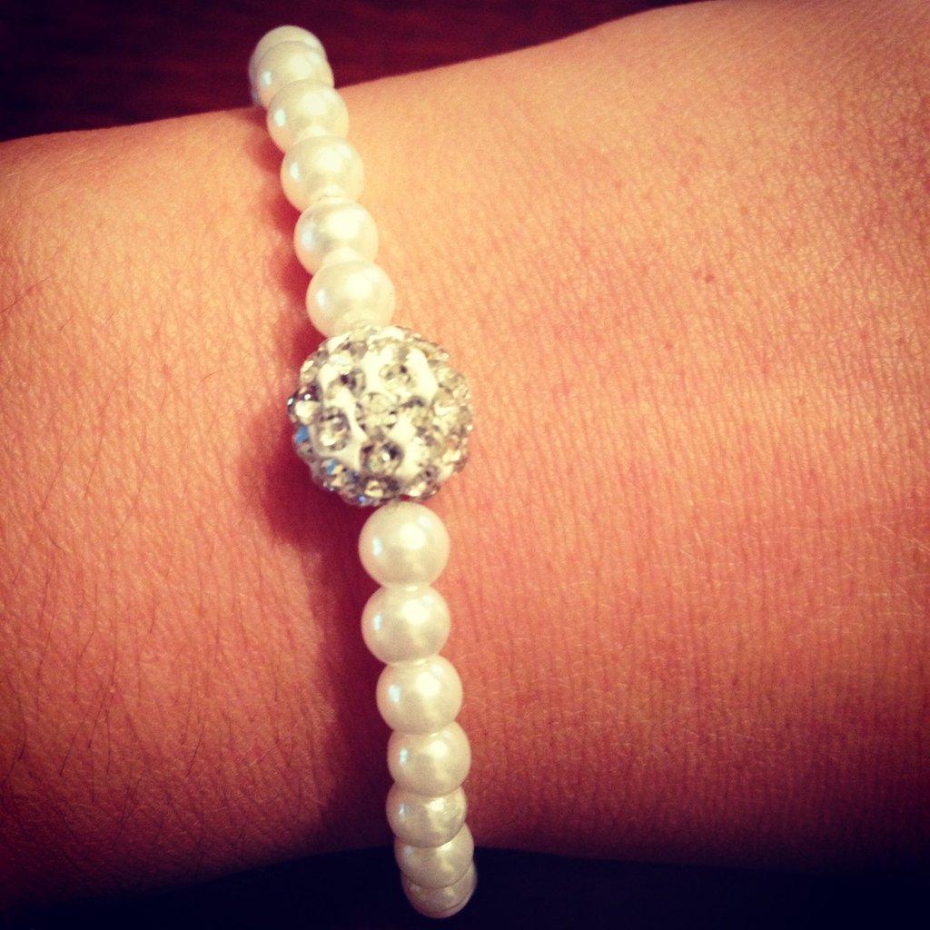 Bracciali con perle
