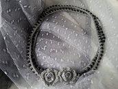 Collana perle nera