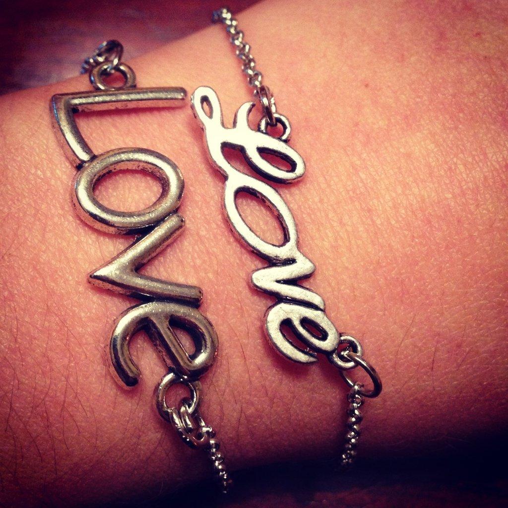 Bracciali Love e infinito