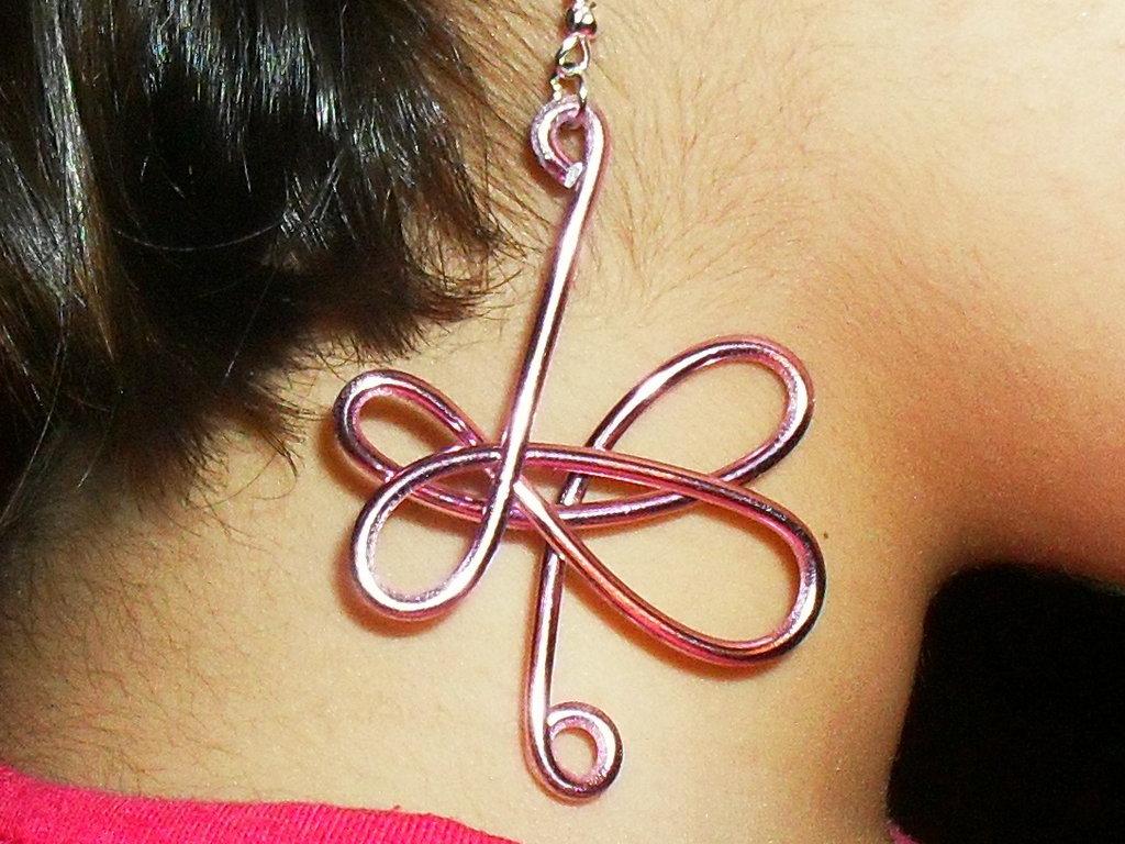 orecchini fantasy wire