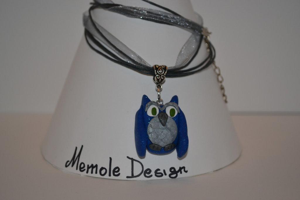 collana gufetto Memole design