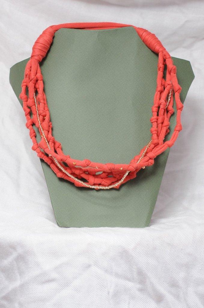 Collana Nodi di Corallo