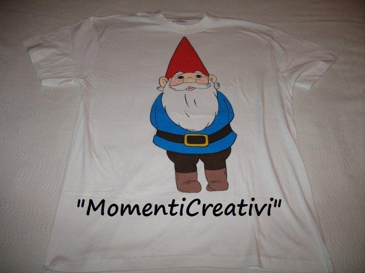 t-shirt dipinte a mano cartoni anni '80