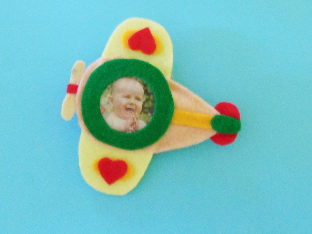 Cornice porta fotografie 'fotoplano': la bomboniera per il battesimo, la comunione, la cresima del vostro bambino