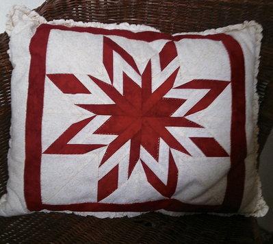 cuscino stella di dresda