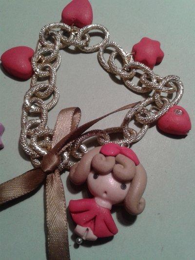 Pink Art -bracciale
