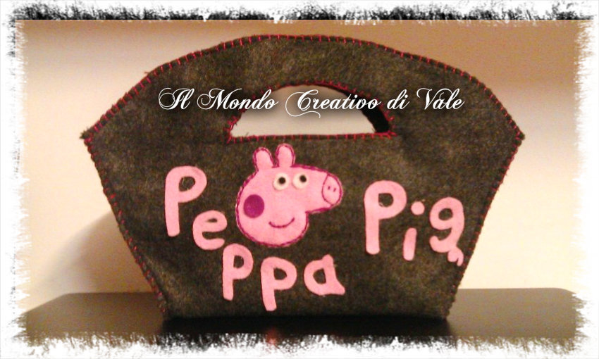 BORSA PEPPA PIG